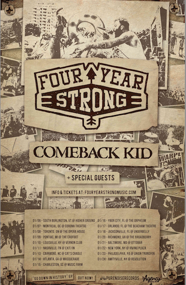 Four Year Strong 2015 Winter