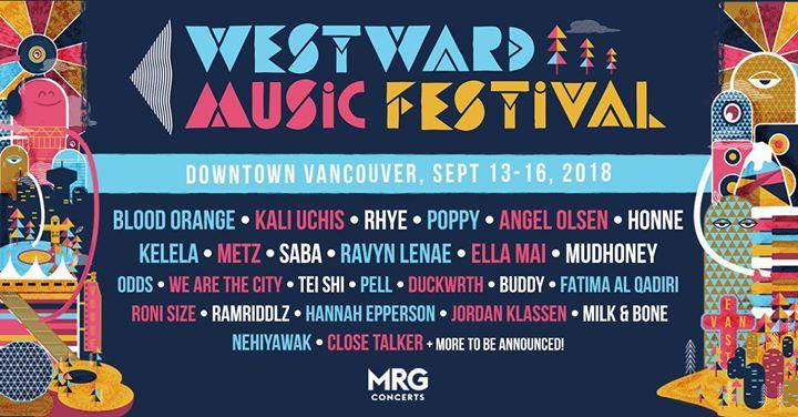 Westward Music Festival 2018 lineup